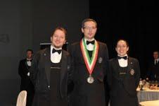 Dennis Metz con Daniele Arcangeli e Valentina Merolli