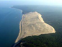 la duna di sabbia di pyla
