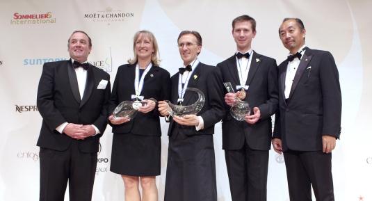 il podio 2013 con Paolo al centro