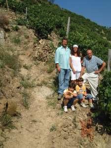 la famiglia Alessandro Anfosso