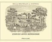 etichetta di chateau lafite rothschild
