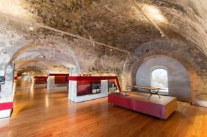 saloni del Forte Annunziata a Ventimiglia
