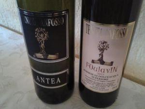 due dei vini degustati